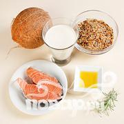 Жареный лосось в кокосовом молоке   - фото шаг 1