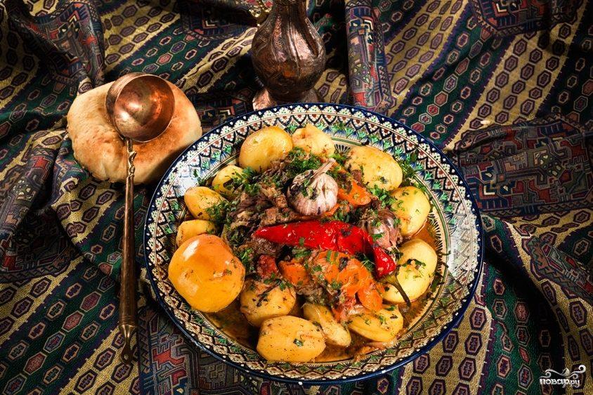 Рецепт Мясо по-узбекски
