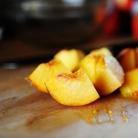 Рецепт Блинчики с персиковой начинкой