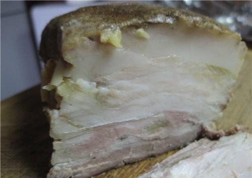 Рецепт Сырокопченая колбаса в домашних условиях