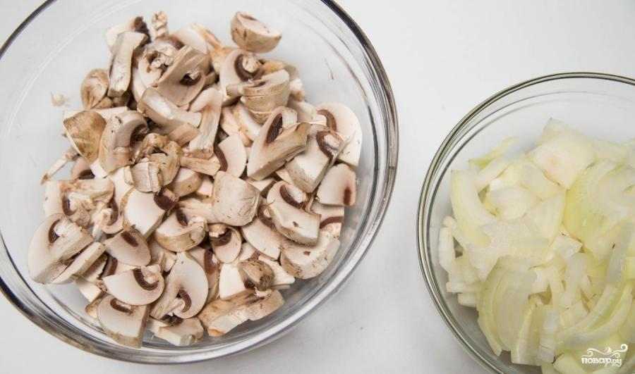 Рецепт Рулет из свинины с грибами