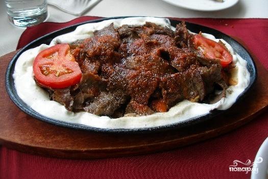 Рецепт Искендер кебаб