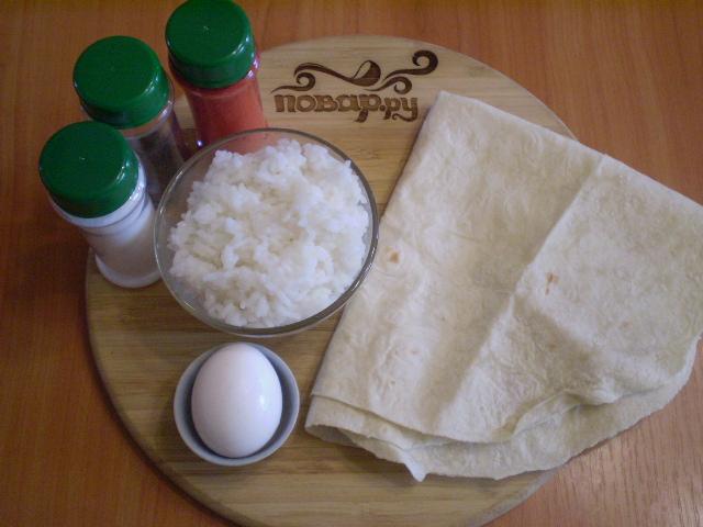 Рецепт Трубочки из лаваша, запеченные в духовке