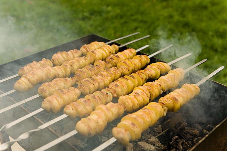 картофель на мангале рецепт с фото