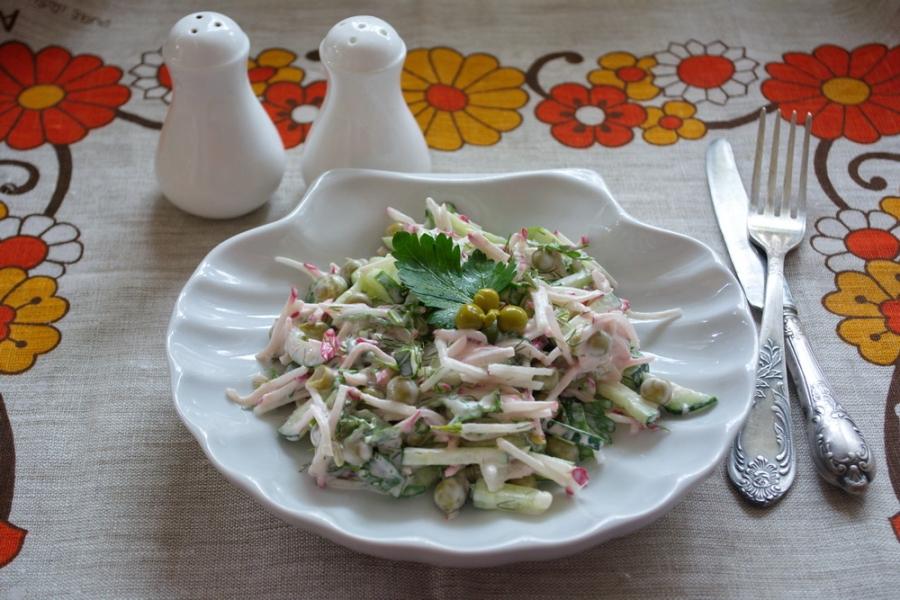 Салат быстрый и вкусный - фото шаг 4