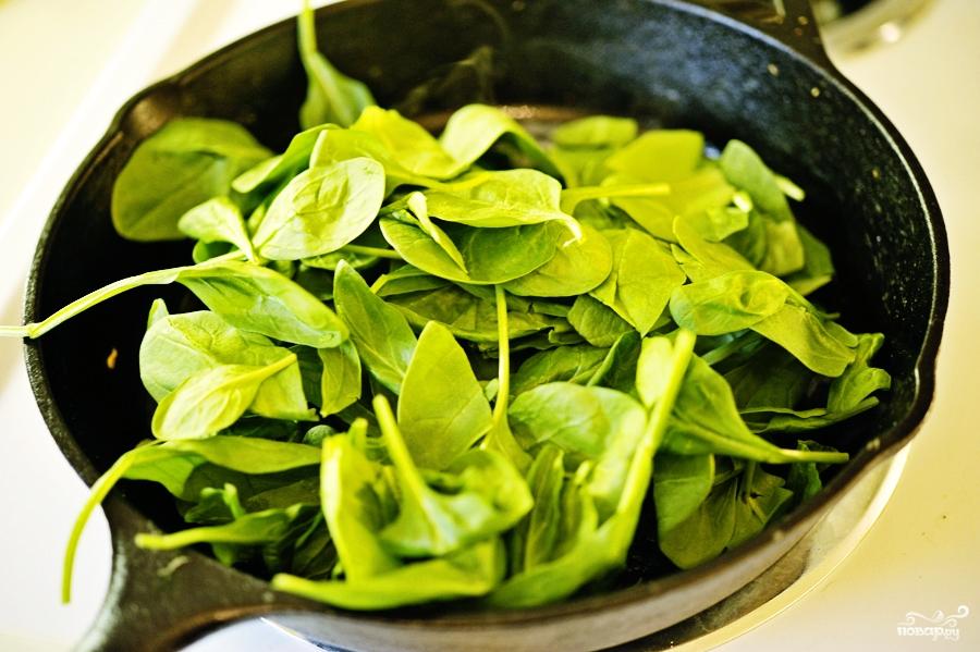 Омлет со шпинатом - фото шаг 6