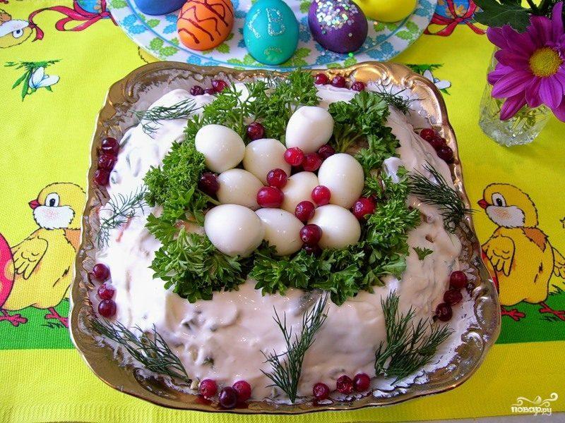 Вкусные рецепты на пасху с салаты