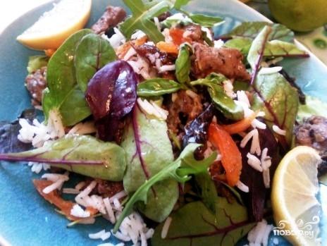 Салат из баранины