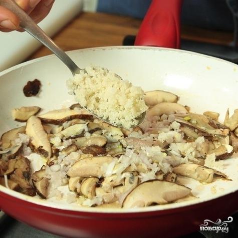 Белые грибы жареные - фото шаг 3