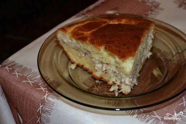 Пирог из налима - фото шаг 4
