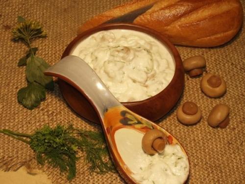 Грибной белый соус - фото шаг 4