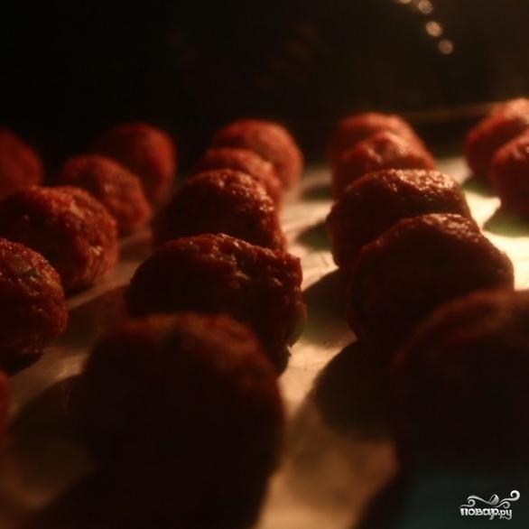 Фрикадельки в томатном соусе - фото шаг 6
