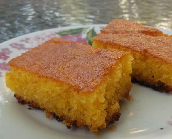 Сладкий пирог за 5 минут - фото шаг 6