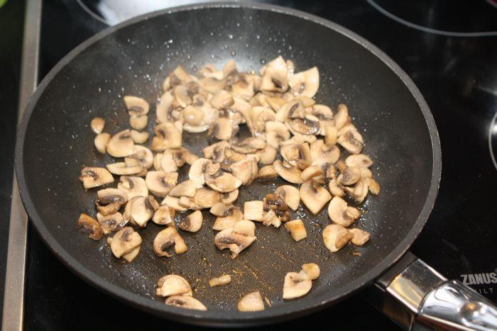 Каннеллони с грибами - фото шаг 6