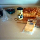 Рецепт Бутерброды Ростбиф Азиаго
