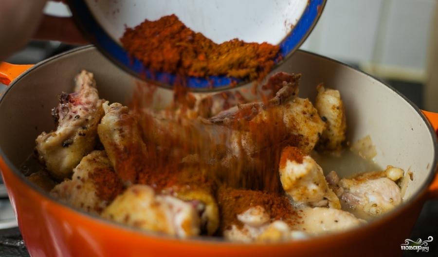Курица с паприкой - фото шаг 8