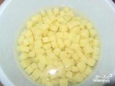 Картофель с печенью в мультиварке - фото шаг 3