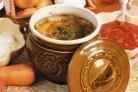Суп из баранины с клецками