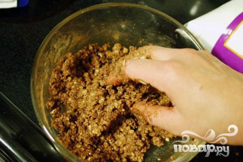 Овсяное печенье без выпечки - фото шаг 2