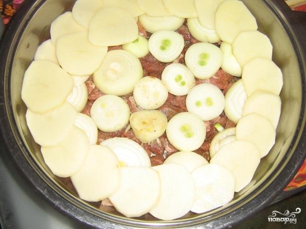 Рецепт Свинина по-французски на сковороде