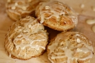 Овсяное печенье с кленовой глазурью