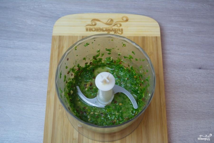 Паста с чесночным соусом - фото шаг 4