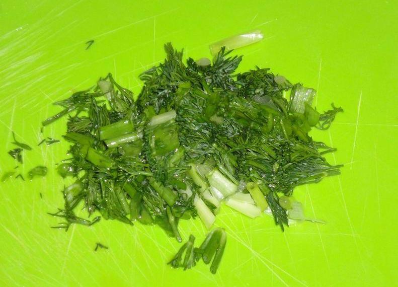 Овощной салат на скорую руку - фото шаг 5