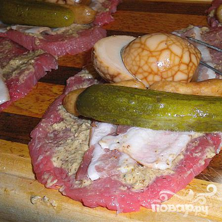 Испанские роллы из говядины - фото шаг 2