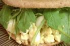 Яичный салат на завтрак