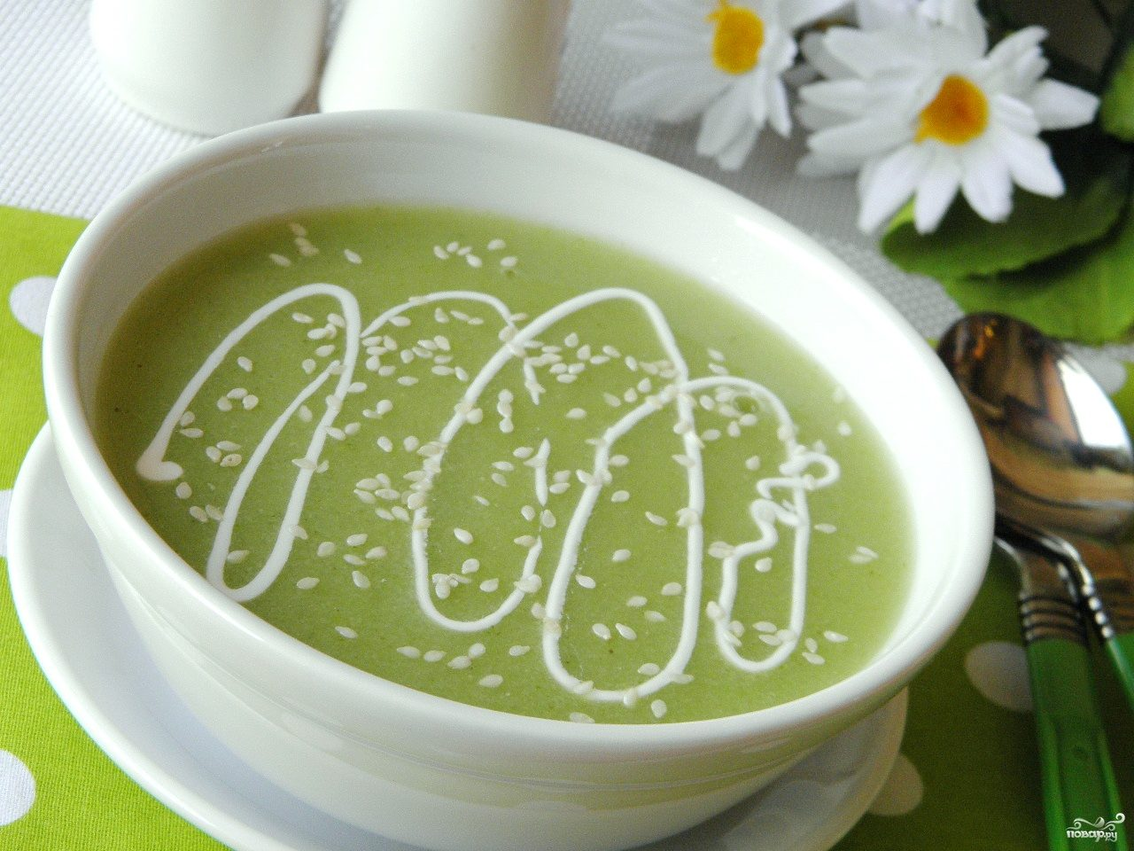 диетический суп пюре из брокколи рецепт с фото