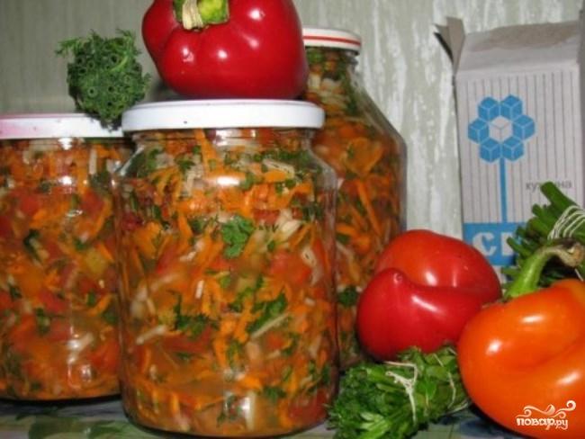Рецепт Заправка для супа на зиму