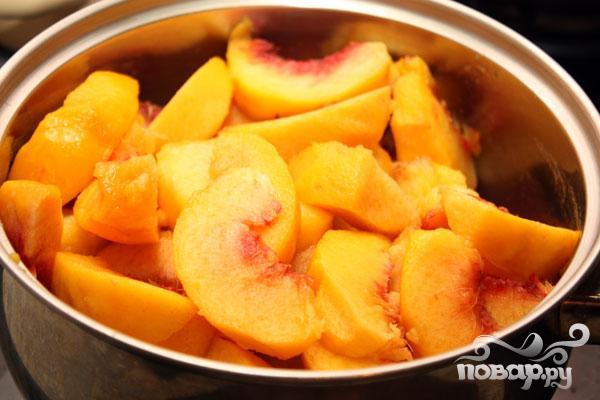 Ароматное желе из персиков - фото шаг 1