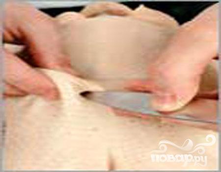 Утка хрустящая с сыром - фото шаг 2