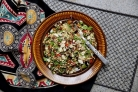 Салат из пророщенной гречки