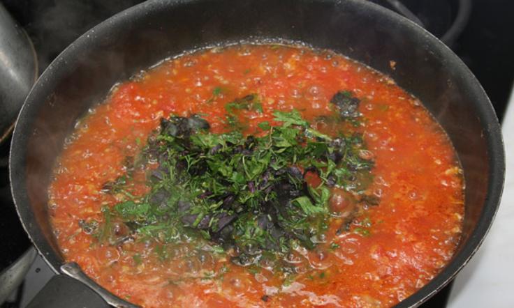 Перец, фаршированный мясом и овощами - фото шаг 8