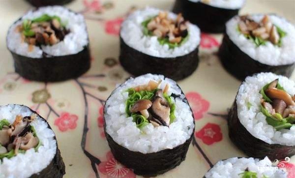 Вегетарианские суши