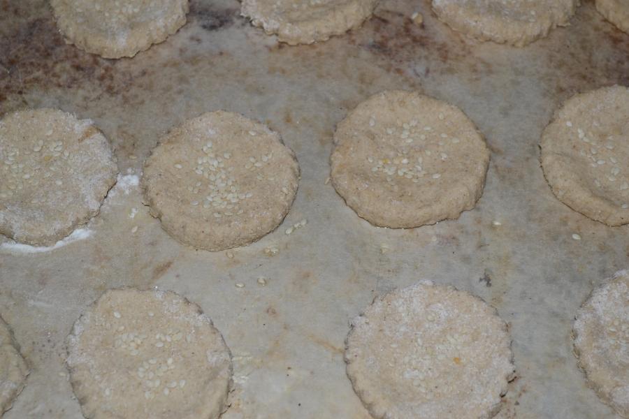 Медовое овсяное печенье - фото шаг 3