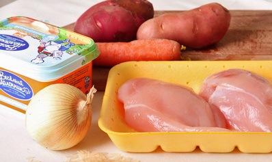 Рецепт Вкусный суп из курицы
