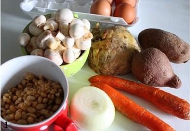 Рецепт Овощной паштет