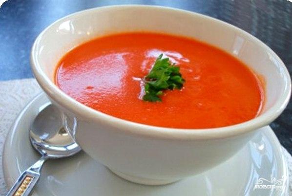Как сделать суп из томатной пасты