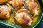 Куриные бедра в медово-горчичном соусе