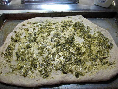 Пицца с колбасой - фото шаг 14