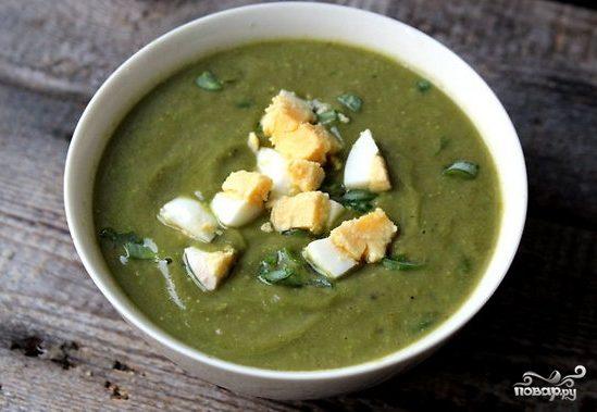 Щавелевый суп для детей