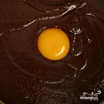 Шоколадный пирог с глазурью - фото шаг 2