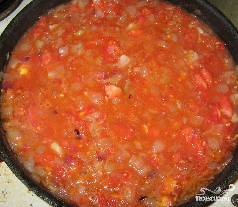 Фаршированные помидоры с индейкой - фото шаг 5