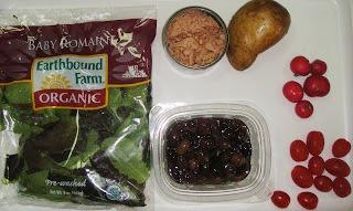 Рецепт Салат из тунца, помидоров и картофеля