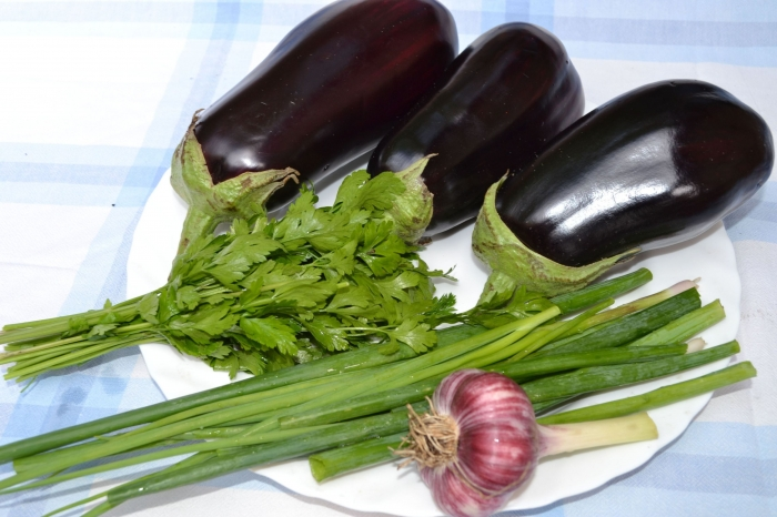 Рецепт Баклажаны по-имеретински