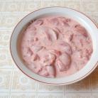 Рецепт Нежная печень с цветной капустой