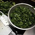 Рецепт Паста с тушеной капустой кале