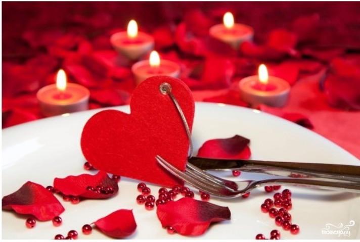 Романтический ужин для девушки